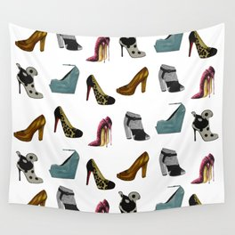 Shoe addict Wall Tapestry