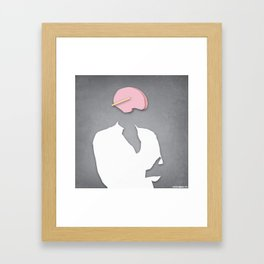 internal medicine Framed Art Print