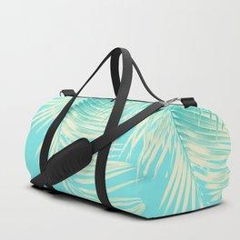 Palm Leaves Summer Vibes #4 #tropical #decor #art #society6 Duffle Bag