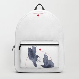 Playful Crows Backpack