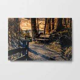 Magic Moments in the Mountains Metal Print