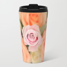 Summer Roses Travel Mug