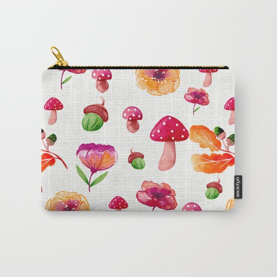 Botanical garden - watercolor Carry-All Pouch