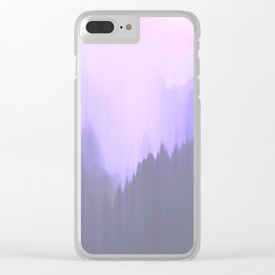 Down on my Mind Clear iPhone Case