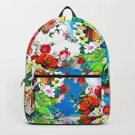 botanical flower garden Backpack