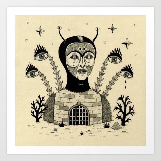 Preternatural Prison Art Print