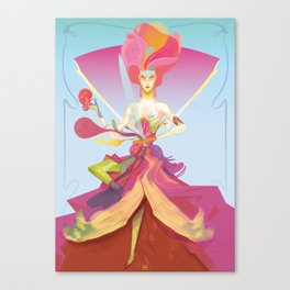 Madame W 3.0 Canvas Print