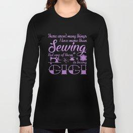 Sewing Gigi Long Sleeve T-shirt