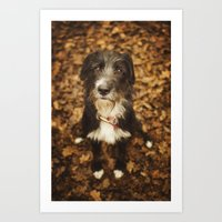 ruby Art Prints featuring Ruby by Alex Malyon