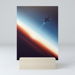 Into Space Mini Art Print