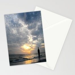 Walk into the sunset.. Stationery Cards