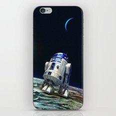 R2 In The Moon iPhone & iPod Skin