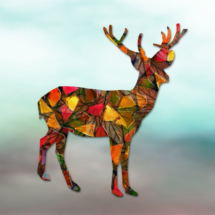 Animal Mosaic - The Deer Comforters