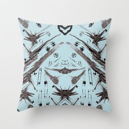 Hand Made Print 1 Throw Pillow