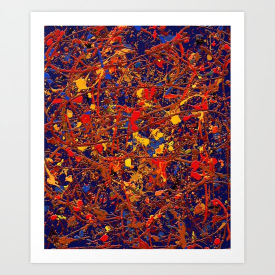 Abstract #725 Art Print