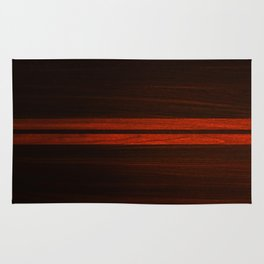 Wooden Striped Oak case Rug
