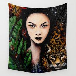 Fierce Beauty Wall Tapestry