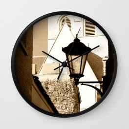 A shortcut to church Wall Clock