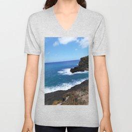 Coast of Honolulu Unisex V-Neck