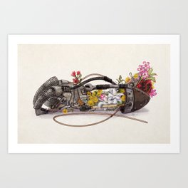 THE GARDEN THAT YOU PLANTED Art Print