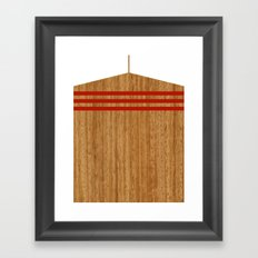 Vintage Rower Ver. 2 Framed Art Print