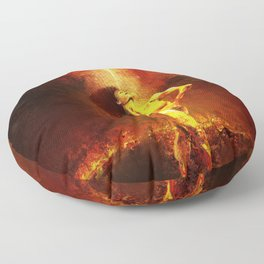 Forged Not Fabricated Floor Pillow