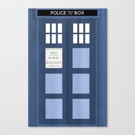 Doctor Who, Tardis Canvas Print