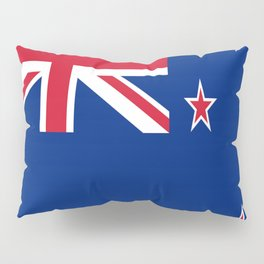Flag of new zealand 3 -zealand,New Zealander,Kiwi,wellington,Auckland. Pillow Sham