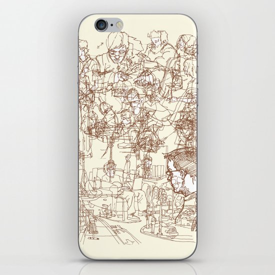 This is What We Call a Life Drawing iPhone & iPod Skin