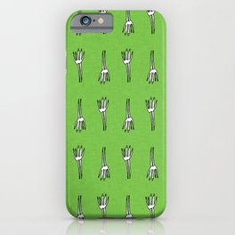 Skeletal Hand Green #Halloween iPhone Case