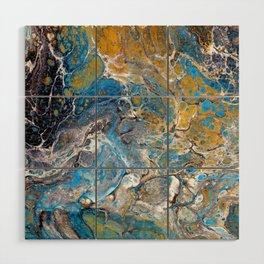 Mineralogy - Abstract Flow Acrylic Wood Wall Art