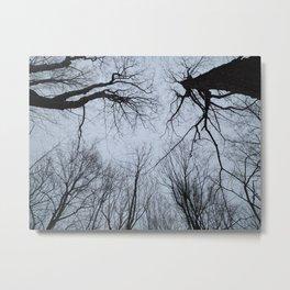 Skyline With Trees Metal Print