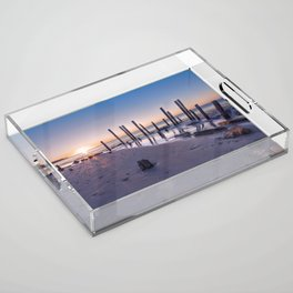 Port Willunga Sunset Acrylic Tray