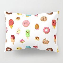 Kawaii food Pillow Sham