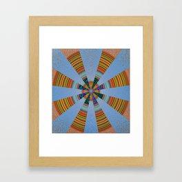 Sacred Sand Mandala Art Print Framed Art Print