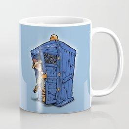 It's B-I-Double g-ER on the Inside Coffee Mug