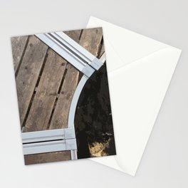 Curvy Dock, Sebec Lake Stationery Cards