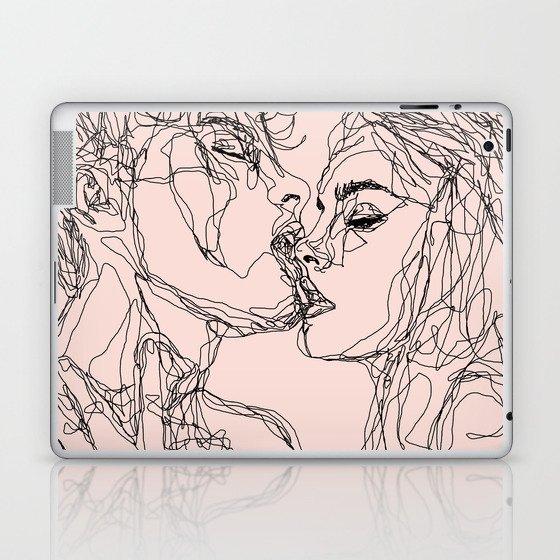 kiss more often Laptop & iPad Skin