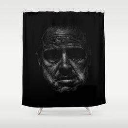 Godfather (B&W) Shower Curtain