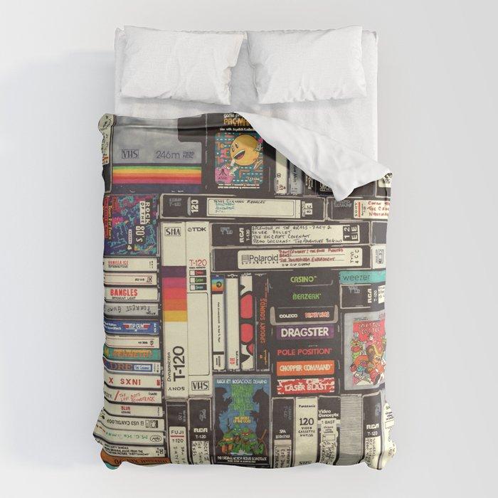 Cassettes, VHS & Games Bettbezug