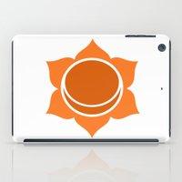 chakra iPad Cases featuring Sacral Chakra by cosmicsenpai