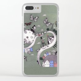 Travelling Clear iPhone Case