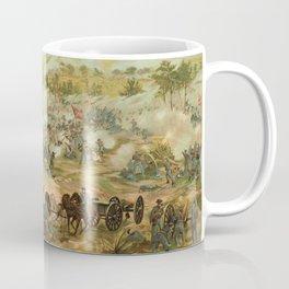 Civil War Battle of Gettysburg July 1-3 1863 by Paul Philippoteaux Coffee Mug