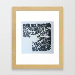 Empty Corner Framed Art Print