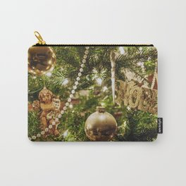 Golden Noel Carry-All Pouch