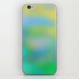 A Summer's Day, Marbled iPhone Skin
