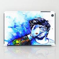 zayn iPad Cases featuring Zayn #1 by dariemkova