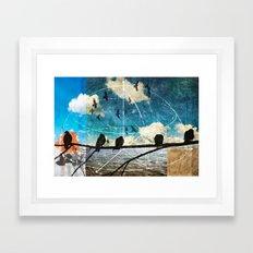 coordinates 2 Framed Art Print