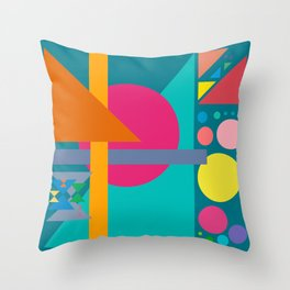 Four Sequences and Some Distractions Throw Pillow