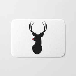 Rudolph The Red-Nosed Reindeer Bath Mat